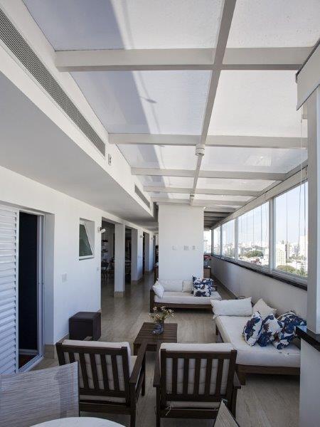 Cobertura terraço residencial