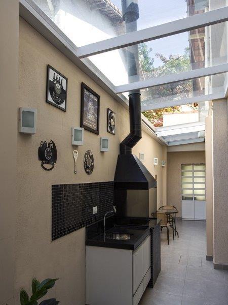 Cobertura de vidro residencial