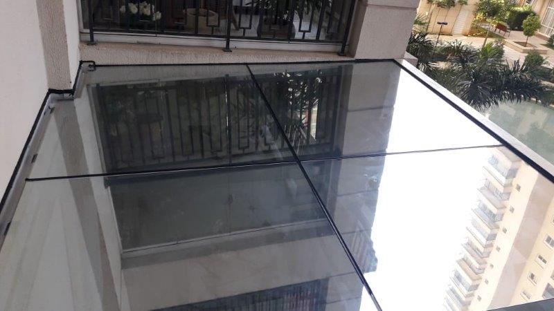 Cobertura de vidro retrátil campinas