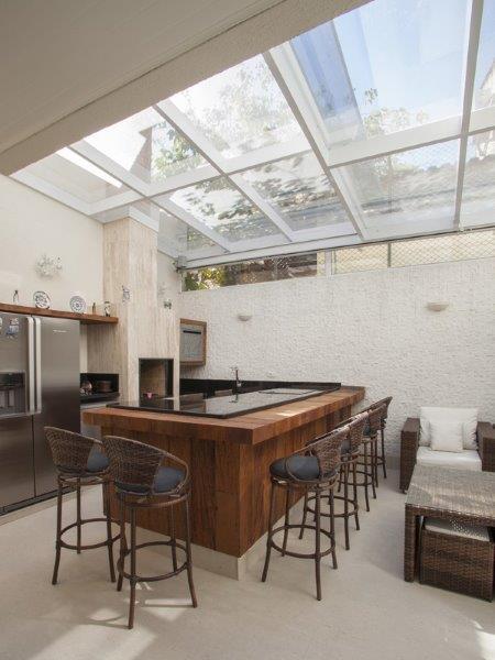 Coberturas externas residenciais