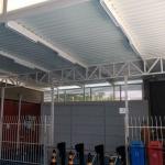 Cobertura telha termoacústica